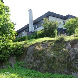 Savonlinnan vanha pääkirjasto Nälkälinnanmäellä