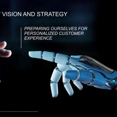 Kuvassa on teknologiavision kansikuva englanniksi käännettynä.