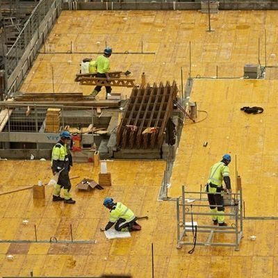Sysselsättningen kommer vara låg för byggnadsarbetare i vinter.