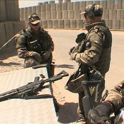 Finländska fredsbevarare i Afghanistan 2009