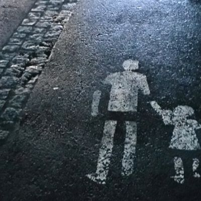 barn, vuxen, trygg, socialen