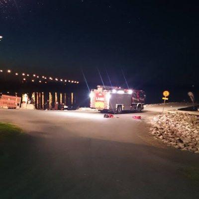 Kaksi vesiskootteria törmäsi toisiinsa pimeällä Kemijoella Rovaniemellä.