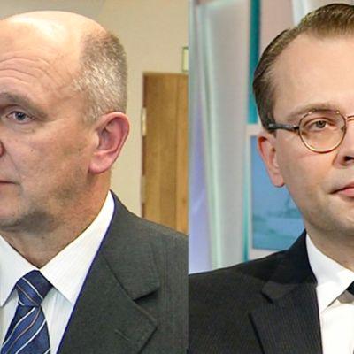 Arto Räty ja Jussi Niinistö