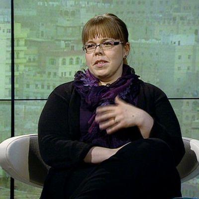 Terrorismitutkija Leena Malkki.