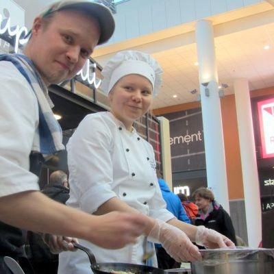 Bistro Vileen ravintoloitsija Ilkka Arvola