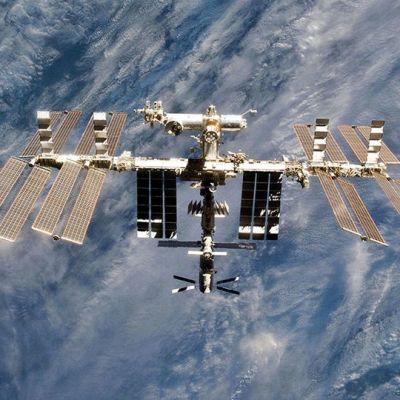 Kansainvälinen avaruusasema ISS.
