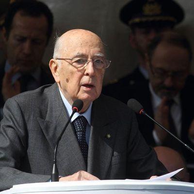Giorgio Napolitano.