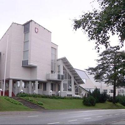Valtimon kunnantalo.