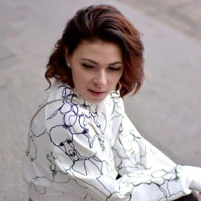 Bloggaamisen kautta Marianne on saanut myös uusia tuttavia Kouvolasta, kuten tämän kuvan ottaneen bloggaajan.