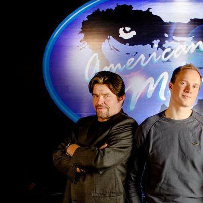 Rovaniemen Teatterin näytelmä American Monkey, kuvassa vasemmalta Markku Köngäs, Tomi Turunen ja Satu Lipponen