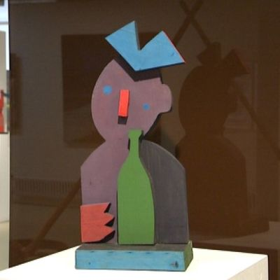 Erarta nykytaiteen museo Pietari Venäjä Suomalais-Ugrilainen näyttely