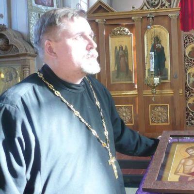 Vaasan ortodoksisen seurakunnan kirkkoherra isä Matti Vallgren