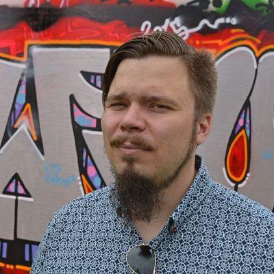 Petteri Parhi ei itse ole taiteilija, mutta sitäkin suurempi katutaiteen ystävä ja kuluttaja.