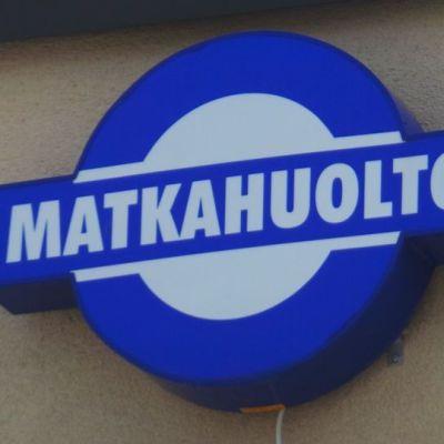 Matkahuollon logo