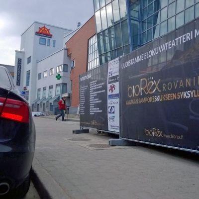 Rovaniemen Bio Rex -elokuvateatteri on remontissa.