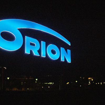 Orionin kyltti.