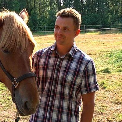 Saaga-hevonen ja Matti Nisonen