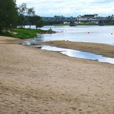 Rovaniemen tyhjä uimaranta