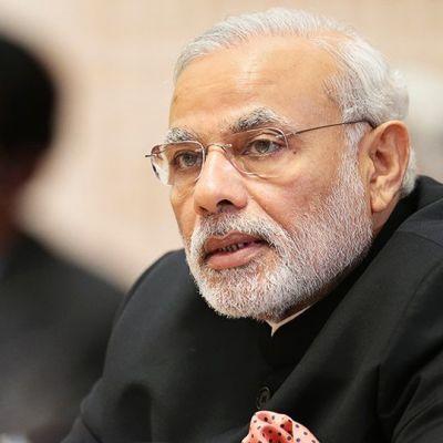 Intian pääministeri Narendra Modi.