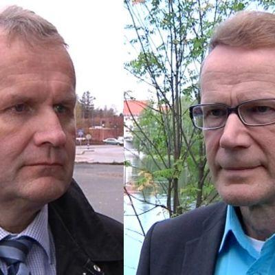 Hannu Hoskonen ja Pentti Hyttinen