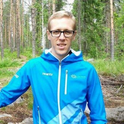 Pyräsuunnistuksen mestari Jussi Laurila Jyväskylästä.