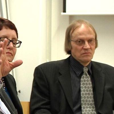 Peter Kankkonen, Gustav Björkstrand, Maren Jonasson ja Pertti Hyttinen.