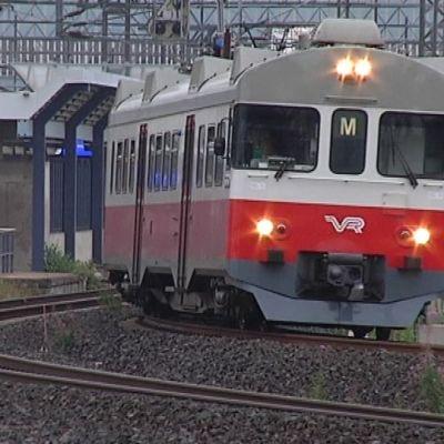 Pisararata toteutuessaan siirtäisi lähijunat pois Pasilan asemalta.