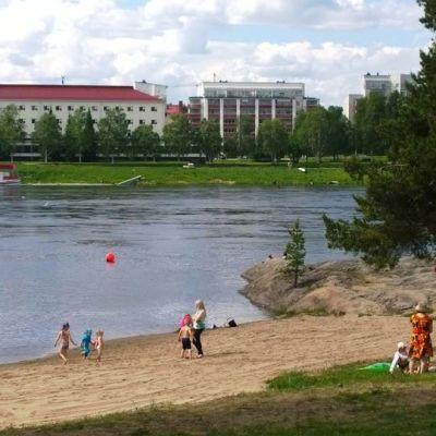 Uimaranta Rovaniemellä