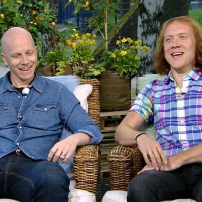 Toni Wirtanen ja Sipe Santapukki.