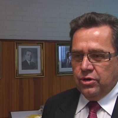 Lavian kunnanjohtaja Pekka Heinonen