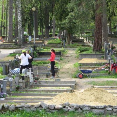 Talvisalon hautausmaa Savonlinnassa
