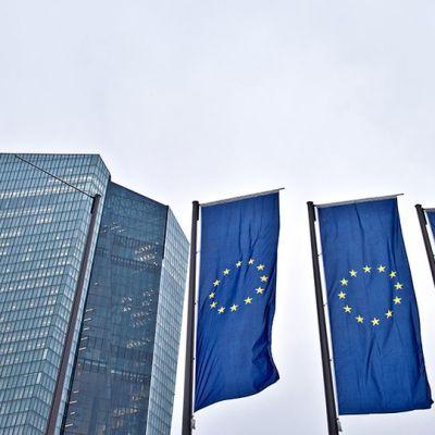 Euroopan keskuspankin pääkonttori.