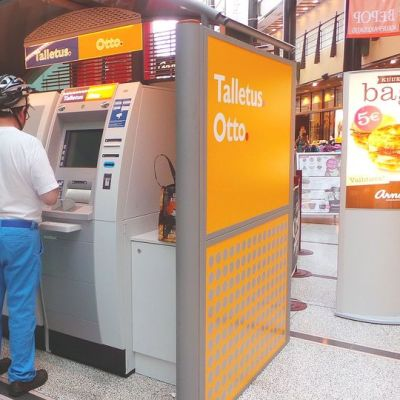Talletusautomaatteja käyttävät nykyisin niin yrittäjät kuin kolikonsäästäjätkin.