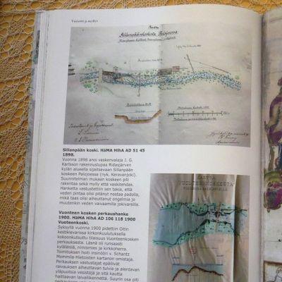 Aukeama kirjasta Hausjärvi vanhoissa kartoissa.
