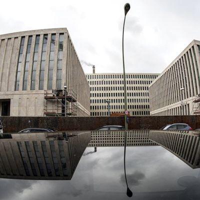 Saksan tiedustelupalvelu BND:n päämaja Berliinissä.