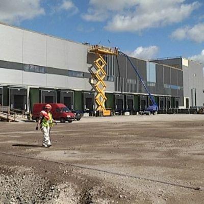 Stockmannin uusi jakelukeskus Tuusula