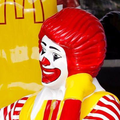 Ronald McDonald -pellepatsas.