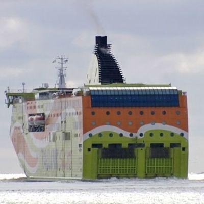 Tallink Superstar -laiva merellä.
