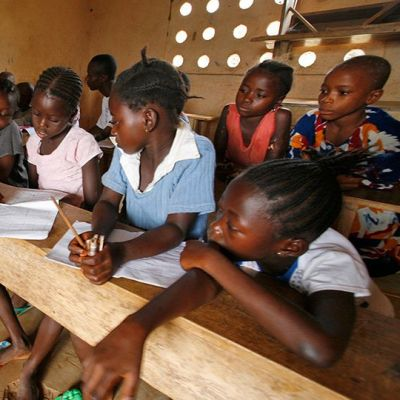 Koulu Sierra Leonessa.