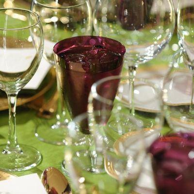 Juhlapöytä.