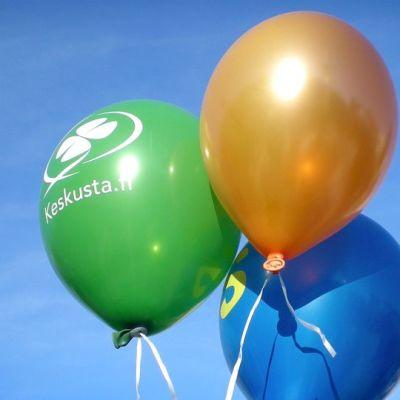 Vaali-ilmapalloja.