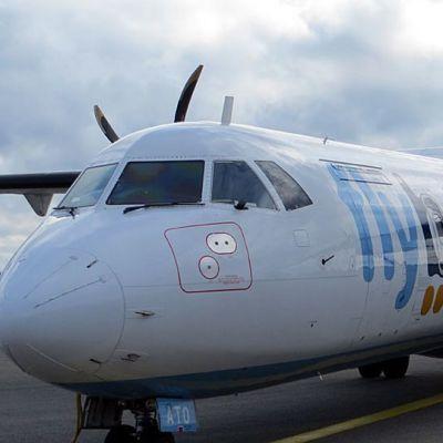 FlyBe:n lentokone