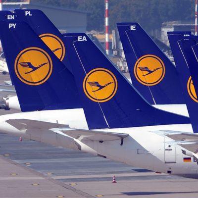 Dusseldorfin lentokenttä.
