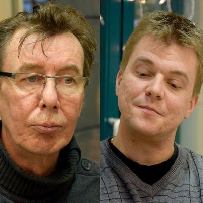 Rauli Hirviniemi, Asko Niemelä ja Risto Tiippana