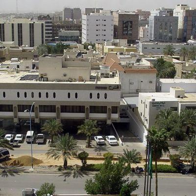 Katunäkymä Saudi-Arabian pääkaupungista Riadista