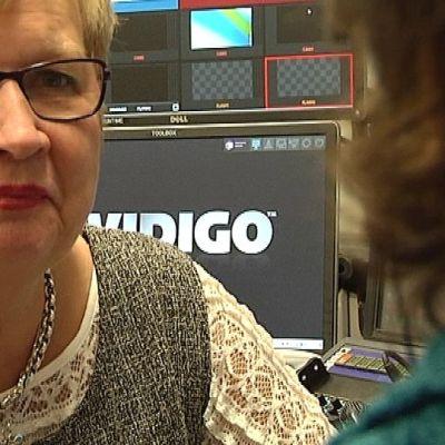 RKP:n kansanedustaja Ulla-Maj Wideroos.