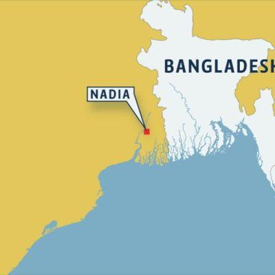 Rikos tapahtui Nadian kaupungissa Itä-Intiassa.