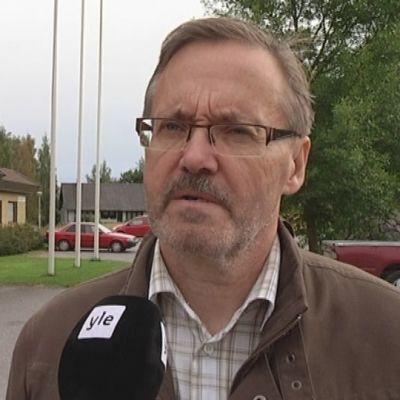 Eero Mattsson, Pomarkun kunnanjohtaja