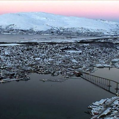 Näkymä Tromssasta.