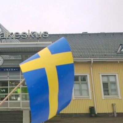 Lappeenrannan Matkakeskus, Ruotsin kuningasparin vierailu 5.3.2015